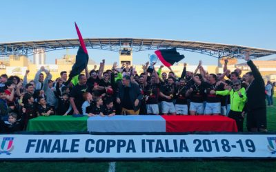 IL VALORUGBY EMILIA SI AGGIUDICA LA COPPA ITALIA 2019