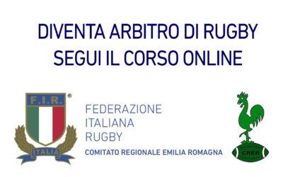 DIVENTA ARBITRO DI RUGBY COL NUOVO CORSO INTERAMENTE ONLINE