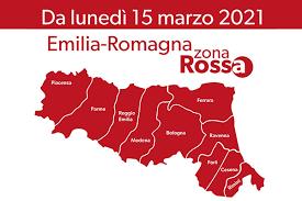 EMILIA-ROMAGNA IN ZONA ROSSA DAL 15 MARZO 2021 – LE ATTIVITA' CONSENTITE