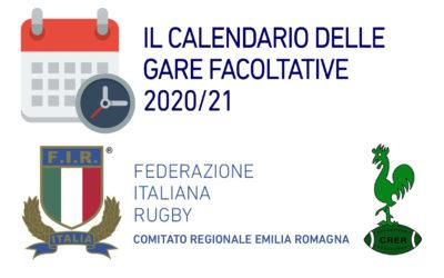 UFFICIALIZZATO IL CALENDARIO DELLE GARE FACOLTATIVE AL VIA IL 5 GIUGNO 2021
