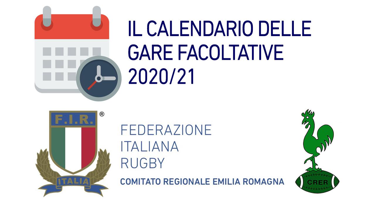 Calendario Gare facoltative rugby